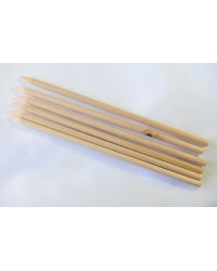 Wooden cake dowel skewers (bulk 100 pack)