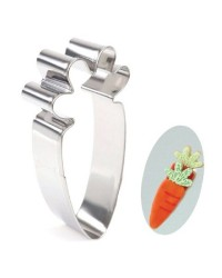 Carrot cookie cutter no1
