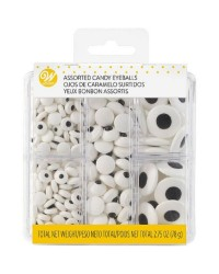 ASSORTED CANDY EYEBALLS TACKLE BOX 2.75 OZ 78grams