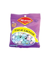Mayceys floral cachous lollies candy 35g
