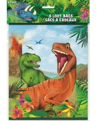 Dinosaur party lootbags