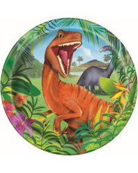 Dinosaur large party plates