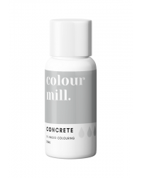Colour Mill Oil Based Food Colouring  Concrete Grey