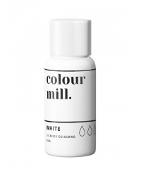 Colour Mill Oil Based Food Colouring White
