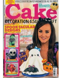 Latest issue Cake Decoration and Sugarcraft magazine October 19 Halloween BUMPER ISSUE