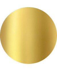 7 inch Cake cards gold round bulk pack 50