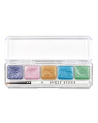Sweet Sticks Mini Paint Palette Mermaid Colours