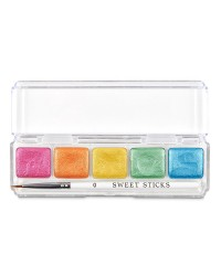 Sweet Sticks Mini Paint Palette Rainbow Colours