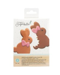 Giant Easter Bunny Rabbit with separate bite cutter Sweet Sugarbelle
