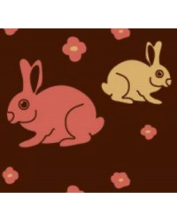 Chocolate transfer sheet Easter bunny No 3
