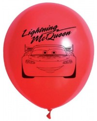 Disney Cars Lightning McQueen party balloons (10)