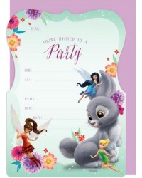 Disney Fairies Tinkerbell party invites pack of 16