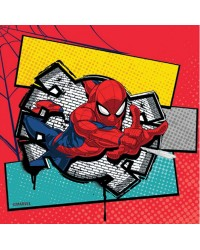 Spiderman party napkins (20)