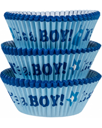 Its a boy baby shower cupcake papers