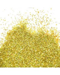 Gold Hologram Flitter Glitter by Barco