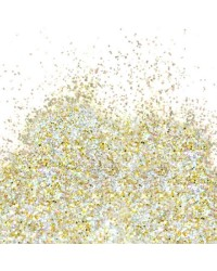 White Gold Hologram Flitter Glitter by Barco