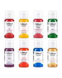 Sweet Sticks Edible Art Paint pack of 8 Rainbow colours