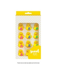 SWEET TOPS CHICK with egg  Easter ICING DECORATIONS (24)