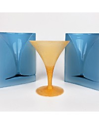 Martini glass isomalt silicone mould by Simi Cakes