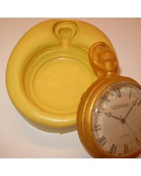 Pocket Watch silicone mould by Simi Cakes