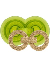 Debonair buckle or brooch jewellery silicone mould by Marvelous Molds