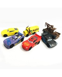 Cars Lightning McQueen and friends cake topper figurines set 6