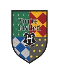 HARRY POTTER Party invites (8)