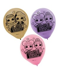 Lol Surprise Dolls party balloons (6)