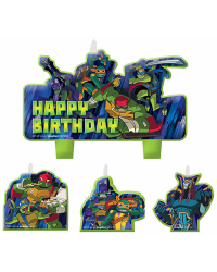Teenage Mutant Ninja Turtles set 4 candles style no 2