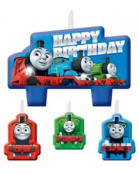 Thomas the Tank Engine set of 4 candles