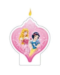 Disney princess flat candle Snow white and Aurora
