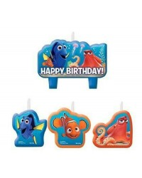 Finding Dory and Nemo candles set of 4