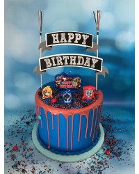 Transformers cake decorating kit