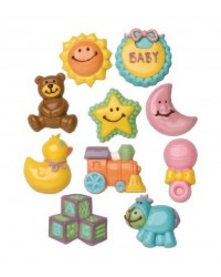 Baby Shower theme 2 chocolate mould set