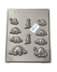 Dinosaurs asstd style 2 chocolate mould