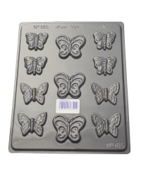 Butterflies assorted chocolate mould