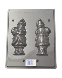 3d Christmas Santa Large chocolate mould