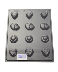 Sweet hearts assorted chocolate mould