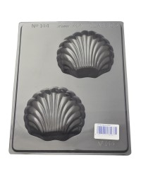 Scallop Shells chocolate mould large