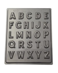 Alphabet style 2 chocolate mould