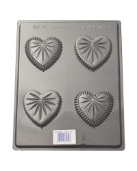 Heart box chocolate mould