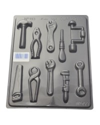 Tool Tools assortment chocolate mould style 2