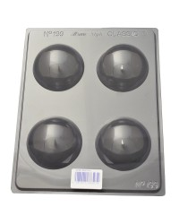 Hemisphere spheres or dome chocolate mould