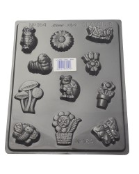Garden delights chocolate mould