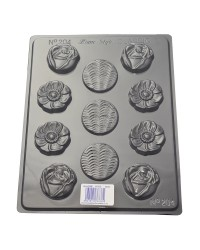 Flower delight chocolate mould