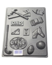 For my man Fathers day DAD chocolate mould