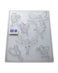 Fairy assortment chocolate mould
