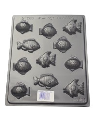 Fish small assorted chocolate mould