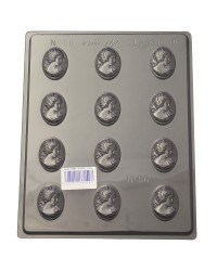 Cameos chocolate mould