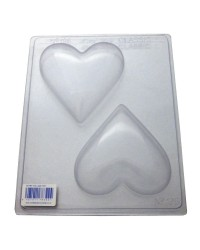 Extra large heart chocolate mould